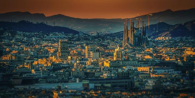 barcelona město